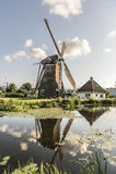 Stadsmolen Leiden Royalty Free Stock Photography