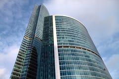 stadsmoscow skyskrapa Royaltyfria Foton