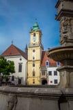 Stadsmuzeum Bratislava Stock Afbeeldingen