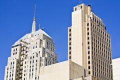 stadsoklahoma skyskrapor Royaltyfria Bilder