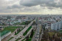 stadsoklarheter över Fotografering för Bildbyråer
