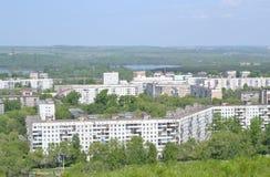 Stadsområde bakgrund Royaltyfria Foton
