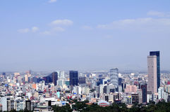 stadsområde finansiella mexico Royaltyfri Fotografi