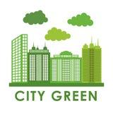 Stadsontwerp bouwpictogram Kleurrijke illustratie, vector Royalty-vrije Stock Foto