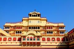 Stadspaleis, Jaipur Stock Afbeeldingen