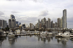 stadspanama horisont Fotografering för Bildbyråer