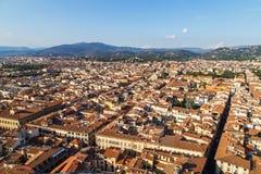 Stadspanorama av Florence Royaltyfria Foton