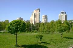 stadspark Royaltyfri Foto