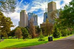 stadspark Arkivbilder