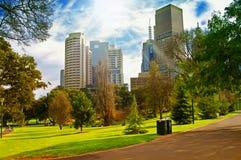 Stadspark Fotografering för Bildbyråer