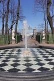 Stadspark in de lente Royalty-vrije Stock Foto's