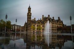 _ stadspark långt royaltyfri bild