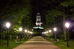 stadspark långt Royaltyfri Bild