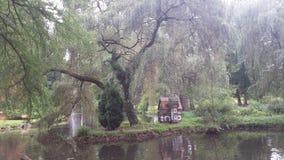 stadspark långt Royaltyfri Fotografi