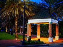 Stadspark New Orleans stock afbeeldingen