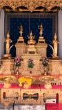 Stadspelarrelikskrin av Bangkok är det berömda stället för thailändskt folk Royaltyfri Foto