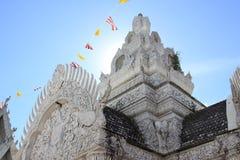 Stadspelarrelikskrin, Nan landskap, Thailand Royaltyfria Foton