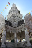 Stadspelarrelikskrin, Nan landskap, Thailand Arkivbild