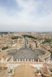 stadspeter s fyrkantig st vatican Arkivfoto