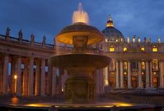 stadspeter s fyrkantig st vatican Arkivbilder