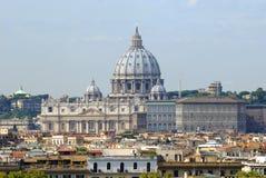 stadspeter st vatican Royaltyfria Foton