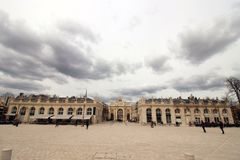 Stadsport i Frankrike Fotografering för Bildbyråer