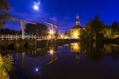Stadsport i Leiden, Holland Royaltyfri Bild