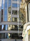 stadsprague reflexioner Arkivfoton