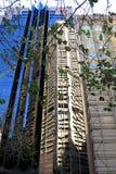 Stadsreflexion arkivbilder