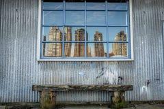 Stadsreflexion Fotografering för Bildbyråer