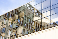 Stadsreflexioner Royaltyfria Bilder