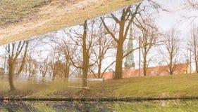 Stadsreflexioner Arkivbild