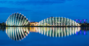 Stadsscape av den Singapore staden Royaltyfria Foton