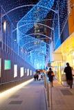 stadsshopping tokyo Arkivbild