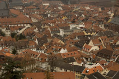 Stadssikt av historiska Heidelberg Royaltyfri Bild