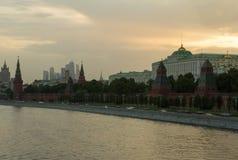 Stadssikt av Moskva Royaltyfri Fotografi