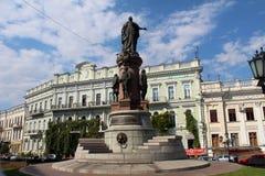 Stadssikt av Odessa, Ukraina Arkivfoton