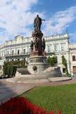 Stadssikt av Odessa, Ukraina Royaltyfri Foto