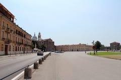 Stadssikt av Padua, Italien Fotografering för Bildbyråer