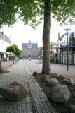 Stadssikt av Veendam arkivfoto