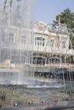 Stadssikt fanfan tulpanspringbrunnen Royaltyfria Foton