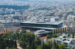 Stadssikt i Aten, Grekland Arkivfoto