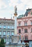 Stadssikter av Brno Arkivfoton
