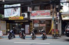 Stadssikter av Manila royaltyfri foto
