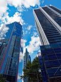 Stadsskyskrapor, Sydney CBD, Australien Arkivfoton