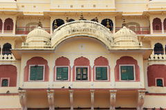 Stadsslott i Jaipur. Royaltyfria Bilder