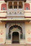 Stadsslott i Jaipur.India. Fotografering för Bildbyråer