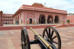 Stadsslott i Jaipur.India. Royaltyfri Bild