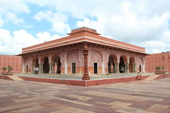 Stadsslott, Jaipur. Fotografering för Bildbyråer