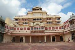 Stadsslott, Jaipur.India Royaltyfria Bilder